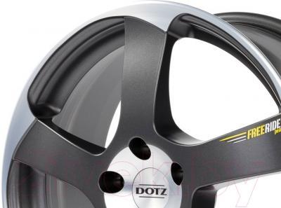 """Литой диск Dotz Freeride 16x7"""" 5x112мм DIA 70.1мм ET 35мм B"""
