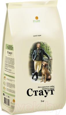 Корм для собак Стаут Для крупных пород НМ171 (3 кг) - общий вид