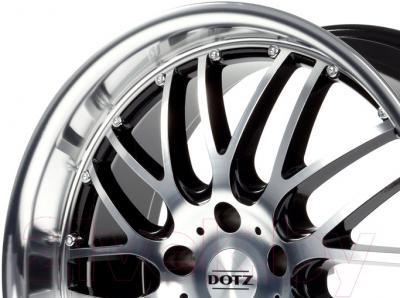 "Литой диск Dotz Mugello 17x8"" 5x120мм DIA 74.1мм ET 20мм (Black Polished)"