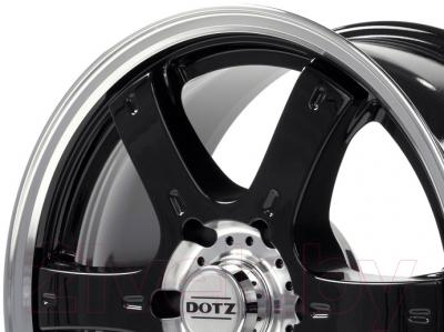 "Литой диск Dotz Crunch 18x8"" 6x139мм DIA 106.1мм ET 20мм (Black)"
