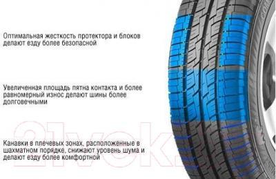 Летняя шина Gislaved Com*Speed 205/70R15C 106/104R