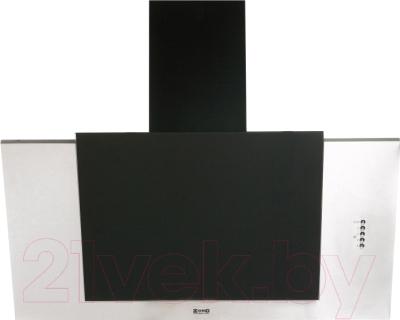 Вытяжка декоративная Zorg Technology Вертикал А (Titan) 750 (90, нержавейка/черное стекло)