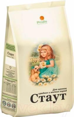 Корм для собак Стаут Для щенков средних и мелких пород НМ148 (3 кг)
