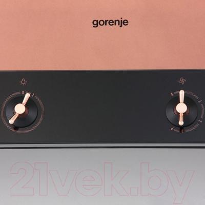 Вытяжка Т-образная Gorenje WHT68INB - поворотные переключатели