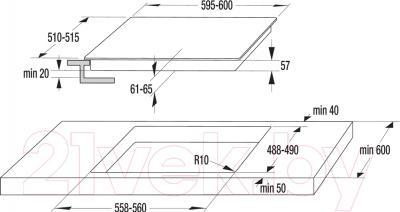 Индукционная варочная панель Gorenje IT635SC
