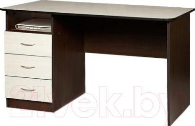 Компьютерный стол Мебель-Класс Альянс левый (венге-дуб молочный)