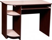 Компьютерный стол Мебель-Класс Компакт (венге-дуб молочный) -