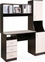 Компьютерный стол Мебель-Класс Партнер правый (венге-дуб молочный) -