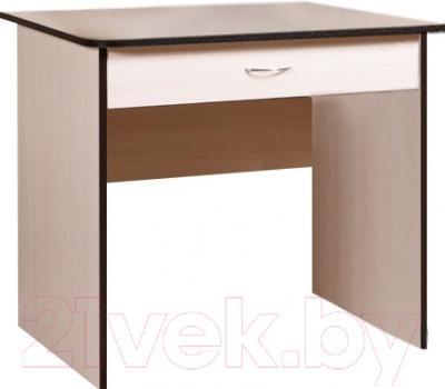 Письменный стол Мебель-Класс Форум (дуб молочный-венге)