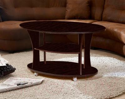 Журнальный столик Мебель-Класс Барселона (венге) - в интерьере