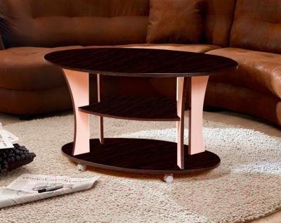 Журнальный столик Мебель-Класс Барселона (венге-дуб молочный 1) - в интерьере
