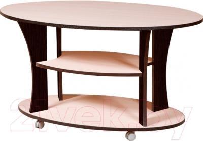 Журнальный столик Мебель-Класс Барселона (венге-дуб молочный 2)