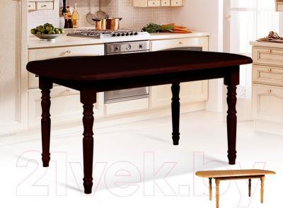 Обеденный стол Мебель-Класс Аполлон (венге) - в интерьере