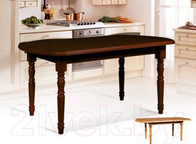 Обеденный стол Мебель-Класс Аполлон (орех) - в интерьере