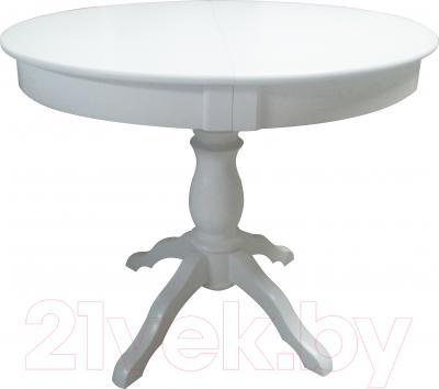 Обеденный стол Мебель-Класс Гелиос (белый)