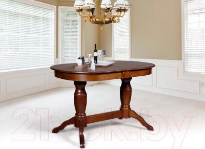 Обеденный стол Мебель-Класс Пан (орех) - в интерьере