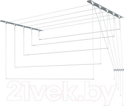 Сушилка для белья ПТФ Лиана С-013 (1м, металл)