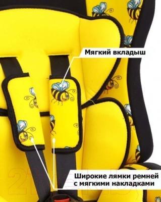 Автокресло Siger Прайм Isofix Art (пчелка)