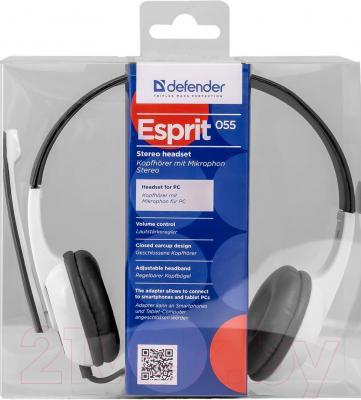 Наушники-гарнитура Defender Esprit 055 / 63055
