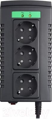 Стабилизатор напряжения APC Line-R 1000VA (LS1000-RS) - сверху размещены три розетки