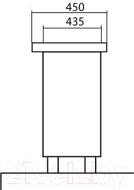 Тумба с умывальником Аква Родос Венеция 60 (напольная, венге)