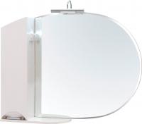 Шкаф с зеркалом для ванной Аква Родос Глория 105 L (ZGLP105) -