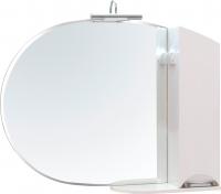 Шкаф с зеркалом для ванной Аква Родос Глория 105 R (ZGLP105) -