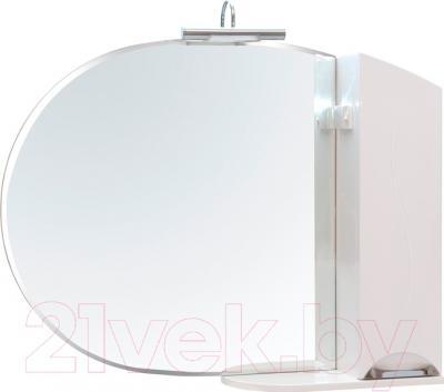 Шкаф с зеркалом для ванной Аква Родос Глория 105 R (ZGLP105)