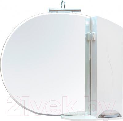 Шкаф с зеркалом для ванной Аква Родос Глория 95 R (ZGLP95)