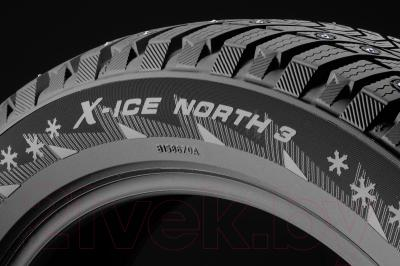 Зимняя шина Michelin X-Ice North 3 245/45R17 99T (шипы)