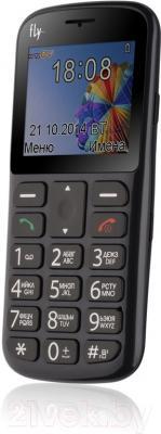 Мобильный телефон Fly Ezzy 6+ (серый)