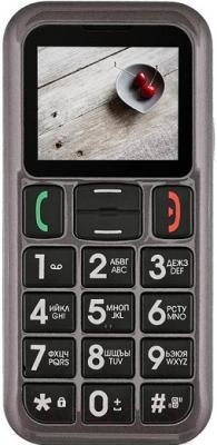 Мобильный телефон Fly Ezzy 5+ (серый)