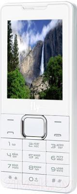 Мобильный телефон Fly DS116+ (белый)