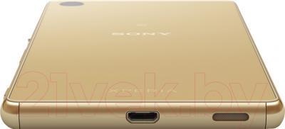 Смартфон Sony Xperia M5 Dual / E5633RU/G (золотой)
