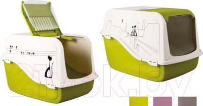 Туалет-домик MP Bergamo Ariel 31.05MIX - возможные цветовые исполнениия