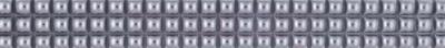 Бордюр для ванной Фриз-Колор Жемчужина (30x200, платиновый)