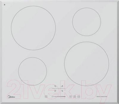 Электрическая варочная панель Midea MC-IF7021B2 WH