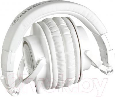 Наушники Audio-Technica ATH-M50x (белый)