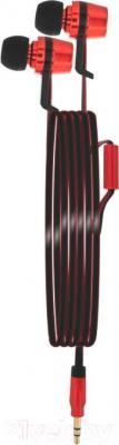 Наушники Gerffins GF-HP-VS-01 (красно-черный)