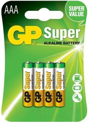 Батарейки ААА GP Batteries Super Alkaline АAА (1шт)