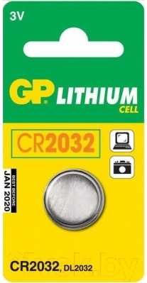 Батарейка CR2032 GP Batteries