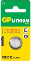 Батарейка CR2032 GP Batteries CR 2032 (1шт) -