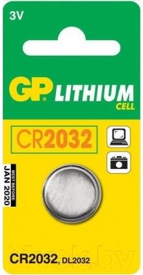Батарейка CR2032 GP Batteries CR 2032 (1шт)