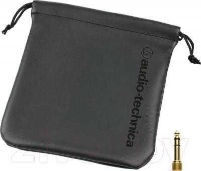 Наушники Audio-Technica ATH-M40x - чехол и переходник на 6.3 мм
