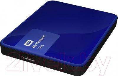 Внешний жесткий диск Western Digital My Passport Ultra 500GB Blue (WDBWWM5000ABL)