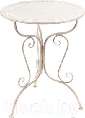 Стол садовый Векастиль PL08-6242 (белый)