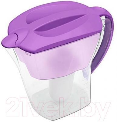 Фильтр питьевой воды Аквафор Премиум (Сирень, с дополнительным модулем)