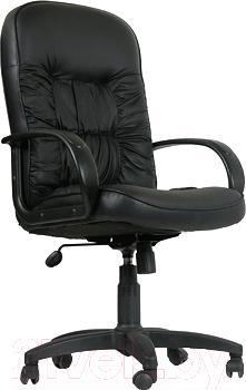 Кресло офисное Chairman 416 (экокожа, черный)