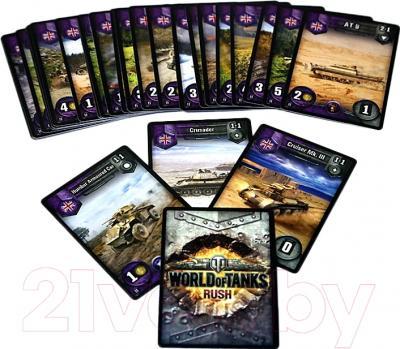 Настольная игра Мир Хобби World of Tanks Rush. Второй Фронт