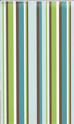 Текстильная шторка для ванной Iddis 199P200i11